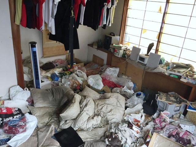 ごみ屋敷・汚部屋
